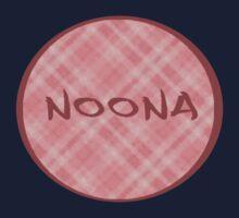 NOONA CIRCLE - PINK PLAID Kids Tee