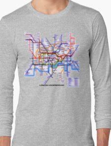 London Underground Tube Long Sleeve T-Shirt