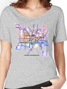 London Underground Tube Women's Relaxed Fit T-Shirt