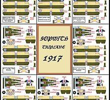 Sopwith Triplanes 1917 by Radwulf