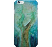 Moon dance-green iPhone Case/Skin