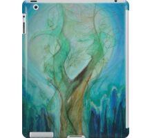 Moon dance-green iPad Case/Skin