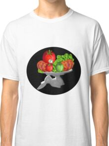 SOME BUNNY IS SERVING  SOME LETTUCE & TOMATOES--VEGETARIAN VARIOUS APPAREL Classic T-Shirt