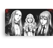 Claymore-Godmother Canvas Print