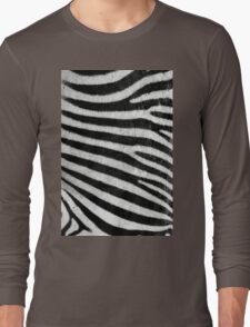 Zebra Style Long Sleeve T-Shirt
