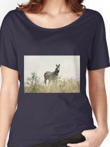 Zebra Women's Relaxed Fit T-Shirt