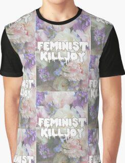 Floral Feminist Killjoy Graphic T-Shirt