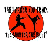 For Martial Art Champions. Photographic Print