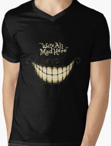 Mad Cat Mens V-Neck T-Shirt