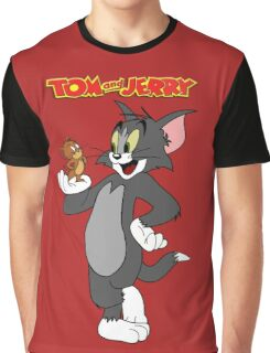 Tom and Jerry Graphic T-Shirt