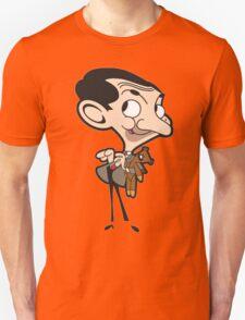 Mr. Bean and Teddy Unisex T-Shirt