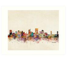sacramento california skyline Art Print
