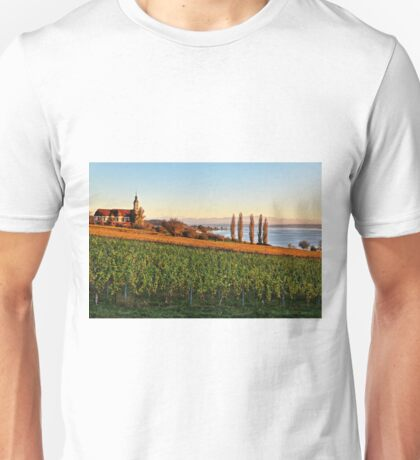 Birnau - The Baroque Basilica at the Lake Constance Unisex T-Shirt
