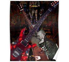 Guitar Rock Series Poster
