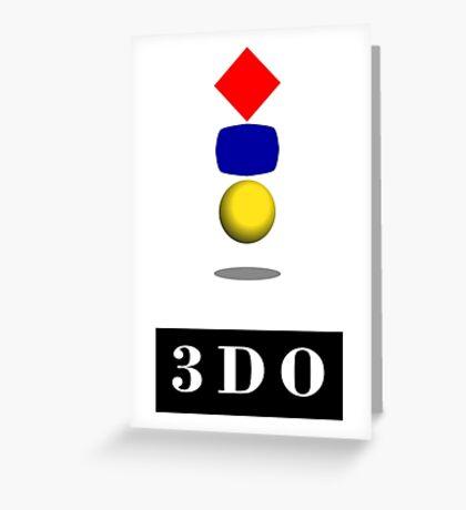 Panasonic 3DO Interactive Multiplayer Greeting Card