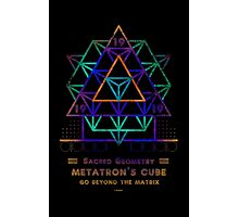 SACRED GEOMETRY METATRON MATRIX Photographic Print
