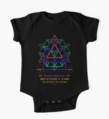 SACRED GEOMETRY METATRON MATRIX One Piece - Short Sleeve