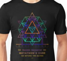 SACRED GEOMETRY METATRON MATRIX Unisex T-Shirt