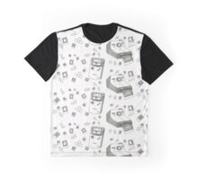 Pixels and Polaroids Graphic T-Shirt
