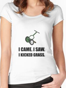 Came Saw Kicked Grass Women's Fitted Scoop T-Shirt