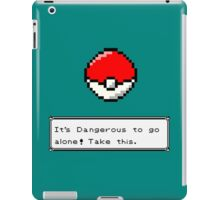 dangerous outside iPad Case/Skin