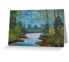 Oil Painting 8 Greeting Card