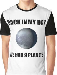 Nine Planets Graphic T-Shirt