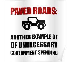 Paved Roads Poster