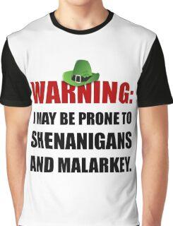 Shenanigans And Malarkey Graphic T-Shirt