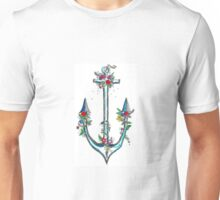 The prettiest anchor Unisex T-Shirt