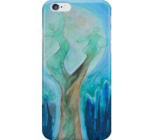 Moon dance-blue iPhone Case/Skin