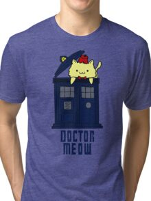 doctor meow - doodle Tri-blend T-Shirt