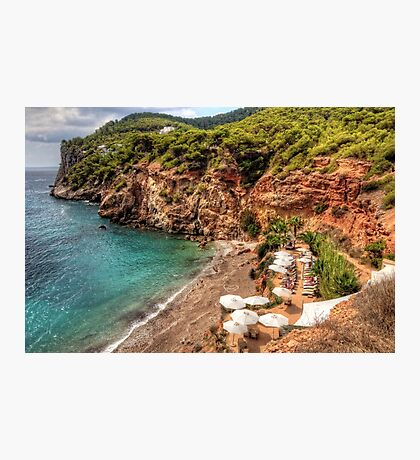 Private Beach Photographic Print