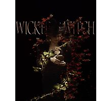 The Wicked Witch Photographic Print