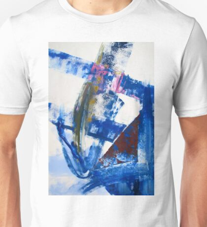One today is worth two tomorrow - Original Wall Modern Abstract Art Painting Original mixed media Unisex T-Shirt