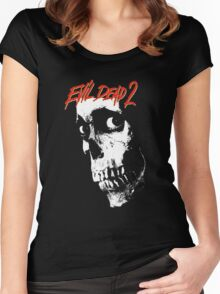 EVIL DEAD 2 Women's Fitted Scoop T-Shirt
