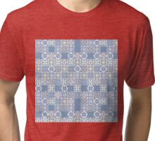 Floor Tile mashup Tri-blend T-Shirt