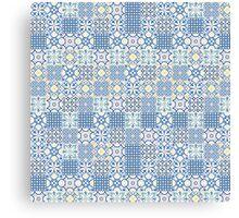 Floor Tile mashup Canvas Print
