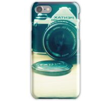 Old friend - vintage Pentax camera iPhone Case/Skin