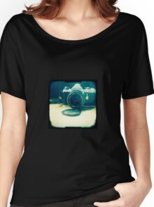 Old friend - vintage Pentax camera Women's Relaxed Fit T-Shirt