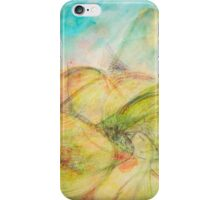 Mountain Giggle-green iPhone Case/Skin