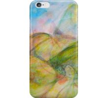 Mountain Giggle-blue iPhone Case/Skin