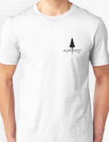 Black Forest - Tree Silhouette Crest Unisex T-Shirt