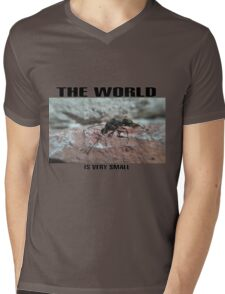 the world Mens V-Neck T-Shirt
