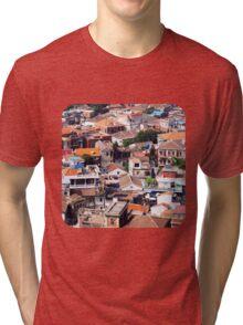 Rooftops of Gulangyu Tri-blend T-Shirt