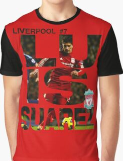 Luis Suarez - Liverpool Graphic T-Shirt