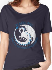 White & Blue Dragon Women's Relaxed Fit T-Shirt