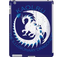 White & Blue Dragon iPad Case/Skin