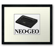 Neo Geo Neo-Geo NeoGeo Framed Print