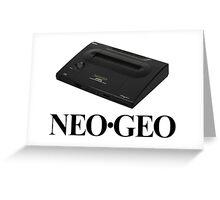 Neo Geo Neo-Geo NeoGeo Greeting Card